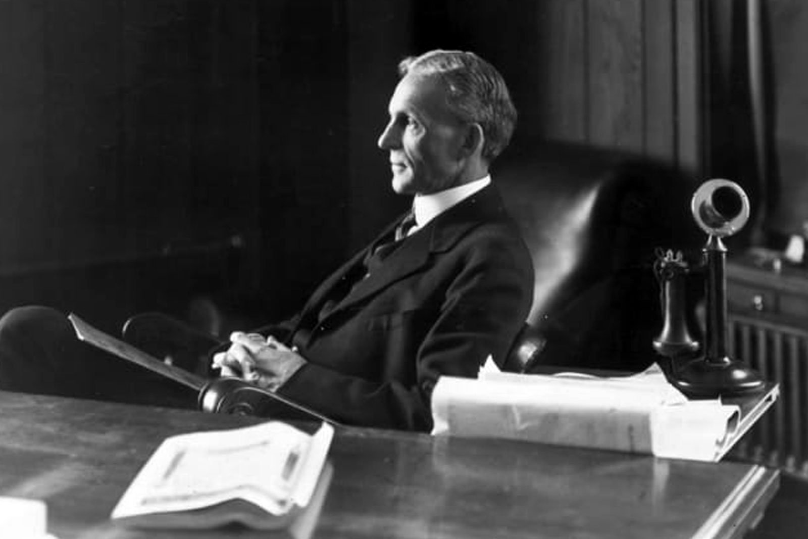 Meet Henry Ford. The man that created your life…